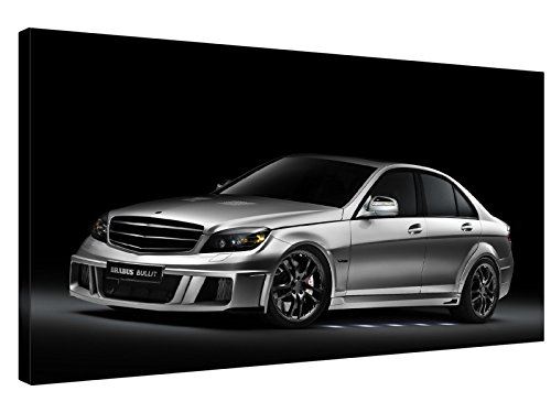 grey-brabus-bullit-30x18-classic-lite-frame-20mm-stretched-mounted-high-quality-artisan-gallery-grad