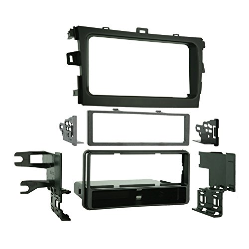 Metra 99-8223 Single DIN Installation Dash Kit for 2009 Toyota Corolla (Black) (Metra 99 2009 compare prices)