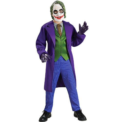 Batman The Dark Knight Deluxe The Joker Costume, Child's Large