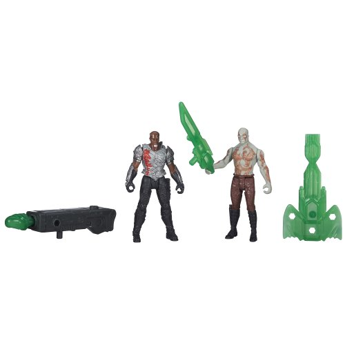 Marvel Guardians of The Galaxy Drax and Korath Figure (2-Pack) - 1