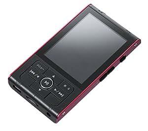 グリーンハウス MP3プレーヤー kana RT 8GBメモリー内蔵 microSD/microSDHC(~32GB)対応 レッド GH-KANART8-RD
