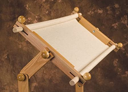 American Legacy Scroll Frame 15x32 and Oak Floor Stand