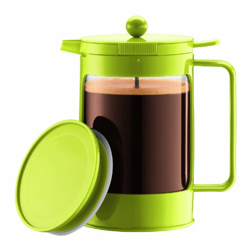 Bodum Bean Ice French Press 1-1/2 Litre Iced Coffeemaker,51-Ounce (Green)