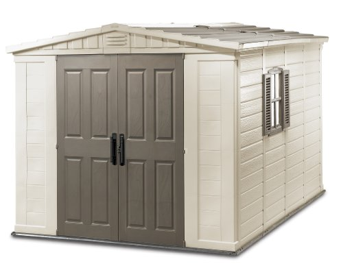 Keter Fortis Outdoor Shed, 8-feet x 11-feet