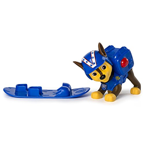 Paw Patrol Winter Rescues Action Pack Pup, Snowboard Chase