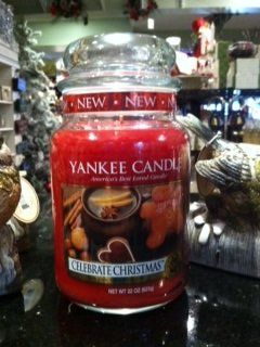 Yankee Candle Large Jar Celebrate Christmas 22oz *NEW*