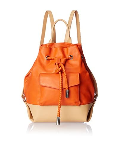 L.A.M.B. Women's Gracie Backpack, Orange As You See