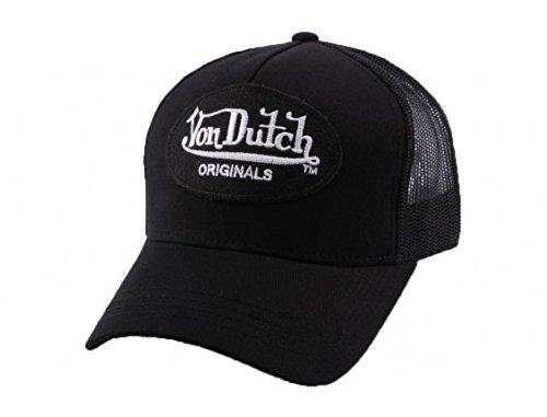 von-dutch-basco-scozzese-uomo-nero-taglia-unica