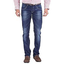 Trigger Men's Regular fit Blue JeansB44J-110S