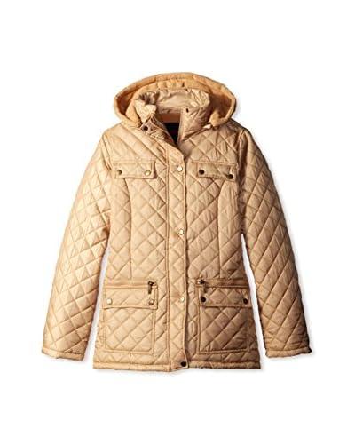 Yoki Women's Quilted Jacket  [Camel]