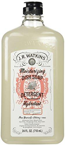 J.R. Watkins Dish Soap, Moisturizing, Pomegranate and Acai, 24 Fluid Ounce (Watkins Dish Soap compare prices)