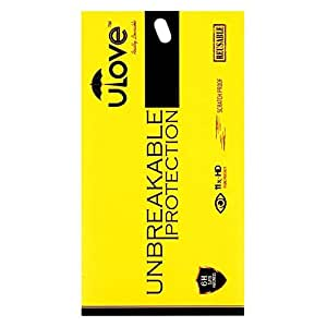 ABC ULove Screen Guard Unbreakable Protection for LAVA ATOM 2 (FRONT)