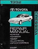 1992 Toyota Cressida Repair Shop Manual Original
