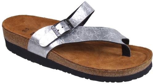 Naot Women's Orlando Sandals,Aluminum Foil Synthetic,39 M EU