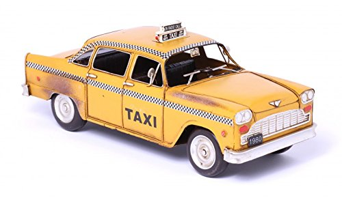 Model Car New Cork Taxi Cab - Retro Tin Model