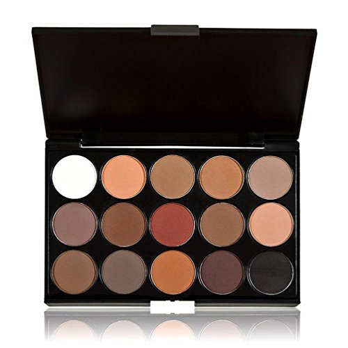 DATEWORK 15 Colors Cosmetic Makeup Neutral Nudes Warm Eyeshadow Palette