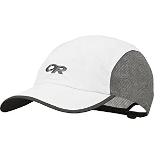 Outdoor Research Men's Swift Cap, White/Light Grey, One Size