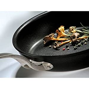 Matfer Bourgeat 668528 Elite Pro Special Aluminum Fry Pan with Induction Bottom from Matfer Bourgeat