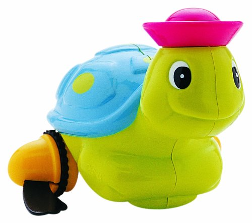 Bébé Confort 30608600 - Giocattolo per bagnetto, Animaletto acquatico assortito: Tartaruga/Anatra (1 unità)
