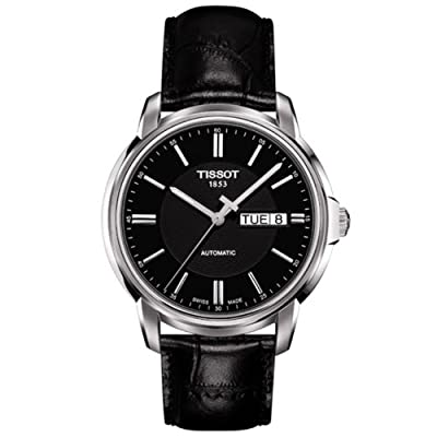 Tissot Men's T0654301605100 Analog Display Swiss Automatic Black Watch
