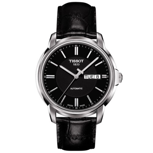 Tissot Automatic III Black Dial Mens Watch T0654301605100