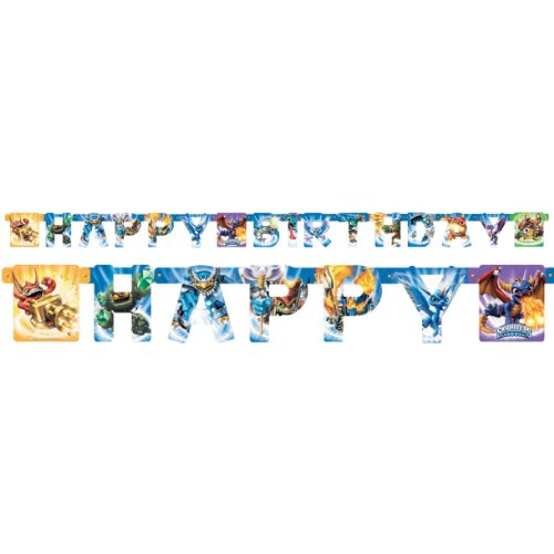 American Greetings Skylanders Birthday Party Banner