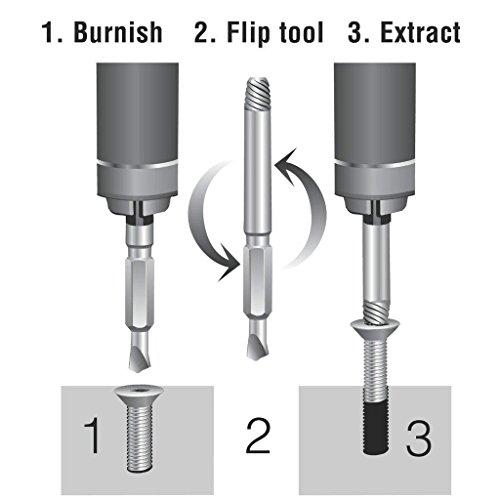 extractor de tornillos JTENG