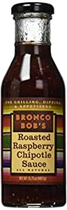 Bronco Bob's Roasted Raspberry Chipotle Sauce 15.75 Oz (Pack of 1)