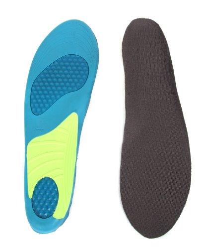 HealthPanion Drei Farbe voller Länge und komfortable Einlegesohlen für Männer und Frauen (Männer)