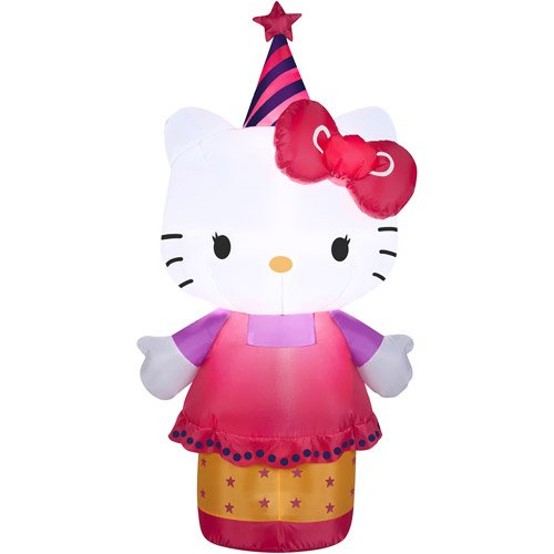 Hello-Kitty-Birthday-Celebration-35-Lighted-Airblown-Inflatable