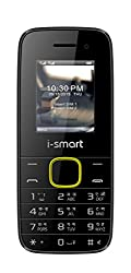 Ismart IS-100L-Selfie-Black-Yellow Mobiles Phone |Mobiles| phone| Basic Mobile Phones|Dual Sim Mobile|Cheap Mobile Phones|Cell phone