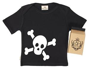 SR - Baby Skulls Baby & Toddler T-Shirt - 100% Bio-algodón - en caja de regalo marca Spoilt Rotten