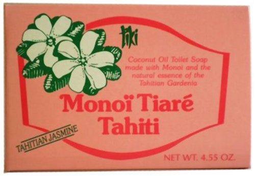 タヒチモノイティアレ石鹸 タヒチアンジャスミン: ミヤ恒産
