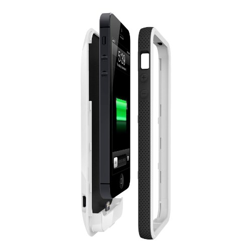 Great Sale Belkin Grip Power Battery Case for iPhone 5 (White)