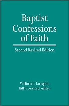 baptist confessional paper