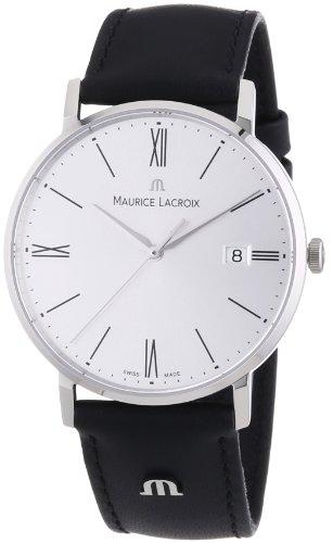 maurice-lacroix-el1087-ss001-110-reloj-analogico-de-cuarzo-para-hombre-con-correa-de-piel-color-negr