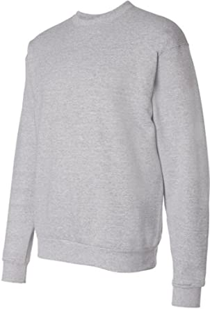 Hanes ComfortBlend EcoSmart Crew Sweatshirt P160, 5XL, Light Steel