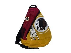 Washington Redskins NFL Football Core Sling Bag Backpack Back Pack by Forever Collectibles