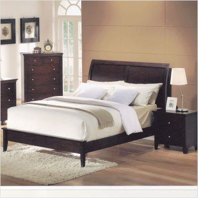 california king bedroom sets on platform bed in dark cherry size king