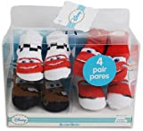 Wholesale 4 Pk Disney Cars Baby Boy Booties 0-6 Months(6x$8.50)