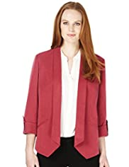 Tencel® Soft Touch Tab Sleeves Jacket