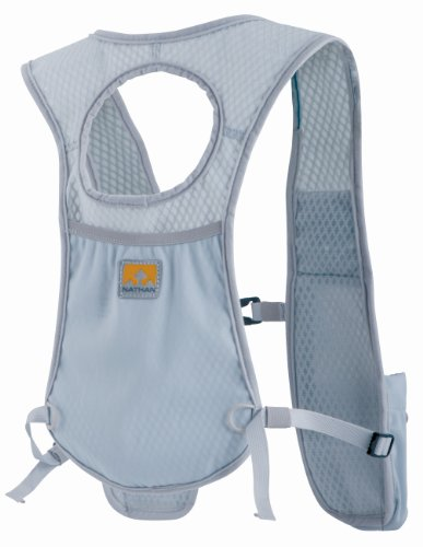 Nathan Nathan HPL #028 Lightweight Race Vest With Back Pocket (Light Grey)