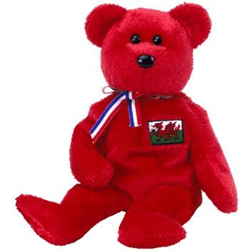 TY Beanie Baby - WALES the Bear (Wales Exclusive)