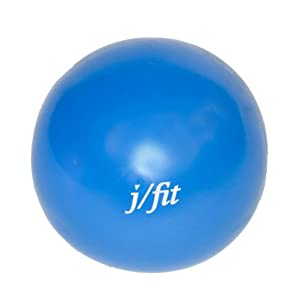 J Fit 9-Inch Therapy Ball, Blue