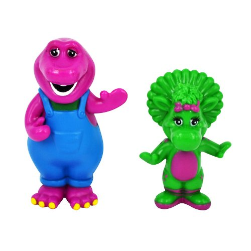 Barney Twin Figure - Barney And Baby Bop front-201348