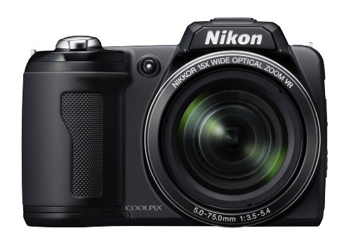 Nikon Coolpix L110 is one of the Best Compact Point and Shoot Digital Cameras for Travel Photos Under $500