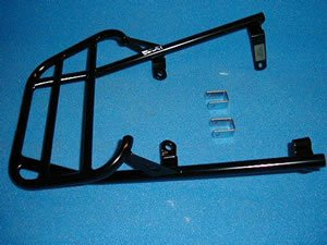Renntec Rack Carrier For Kawasaki GPZ500S 1994 - Black