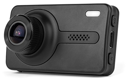 "Black Box X1S GPS Dash Camera - Full HD 1080P H.264 2.7"" LCD - 170° Wide Angle 6G Glass Lens 1.7 Aperture, WDR Night Vision, SOS, G-Sensor, Motion Detection Car DVR Video Recorder & 16GB SD Card"