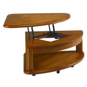 Furniture Living Room Furniture Table Wedge Lift Top Cocktail Table