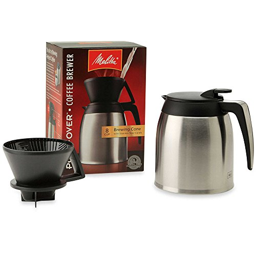 Melitta Thermal Stainless Steel 10-Cup Pour Over Coffee Maker (Melitta 10 Thermal compare prices)